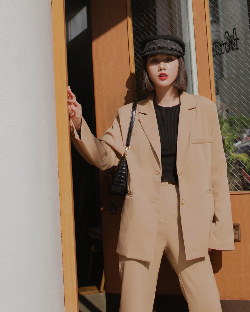 質感西裝外套-Mercci22