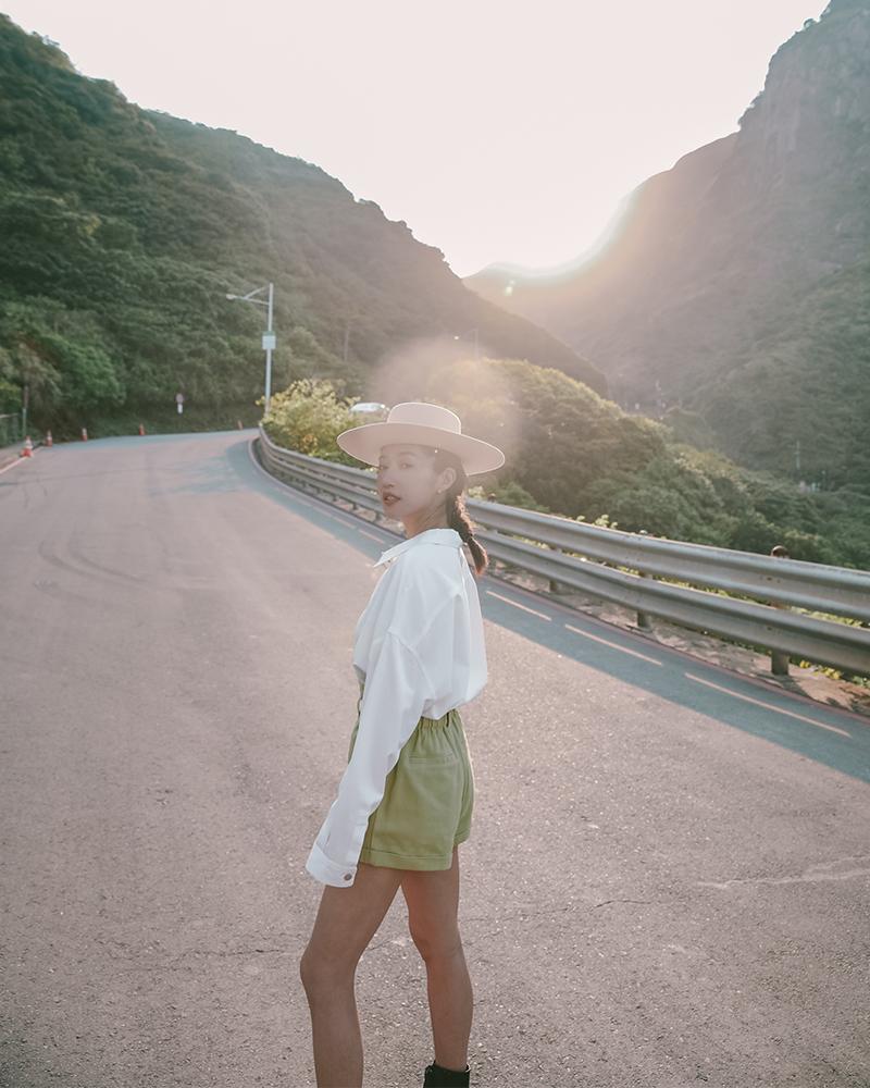 夏日薄款斜紋襯衫-Mercci22